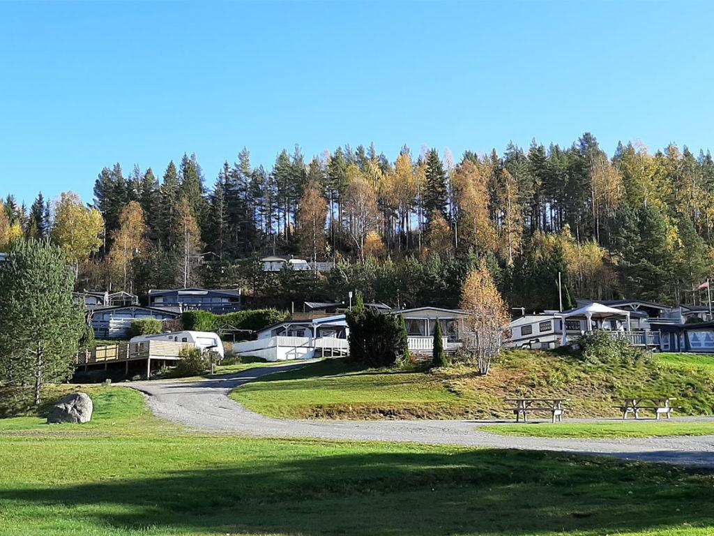 Campingmuligheter på Sigernessjøen Camping